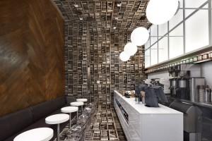 оригинальный дизайн интерьера кафе