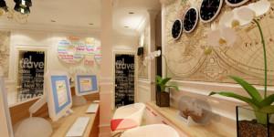 Дизайн офиса туристического агентства